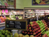Fresh Produce, Cole Bay Supermarket